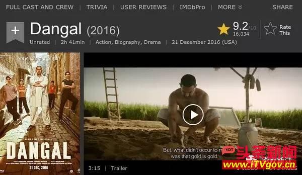 这部印度高分之作,如何成为体育电影的标杆?