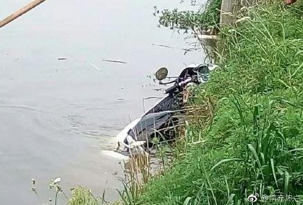 四川女子骑电动车载奶奶表弟掉入鱼塘 3人均溺亡
